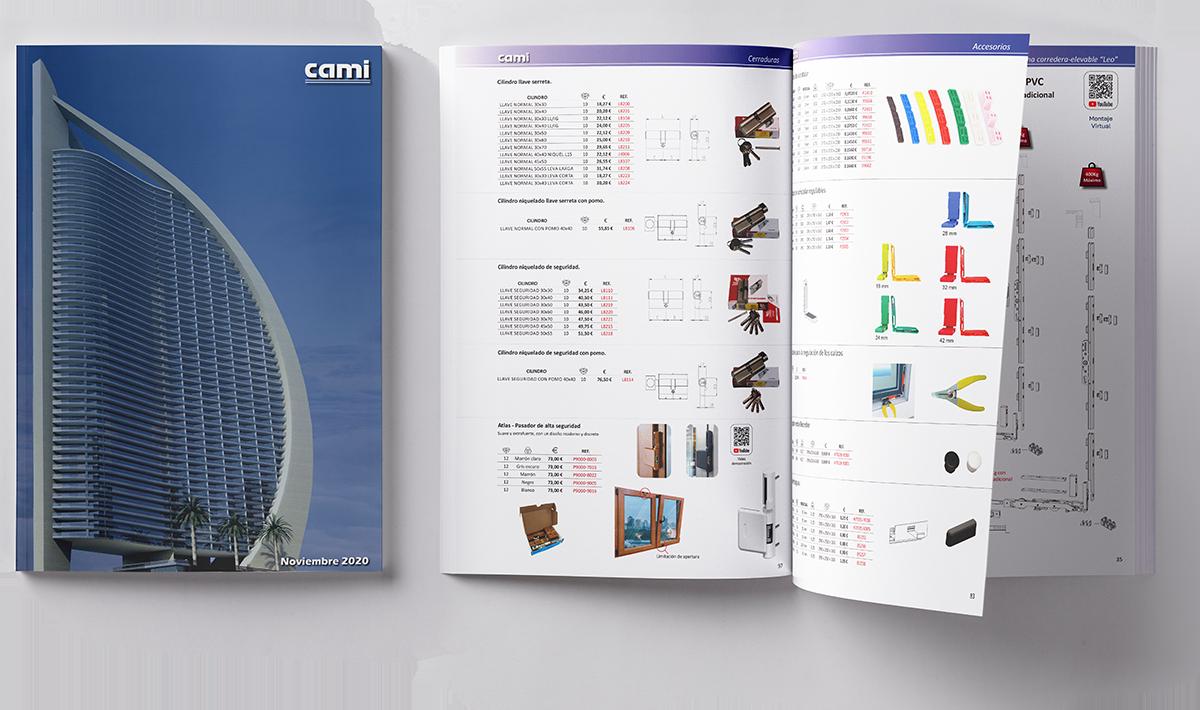 Catálogo PVC y Aluminio para distribuidores
