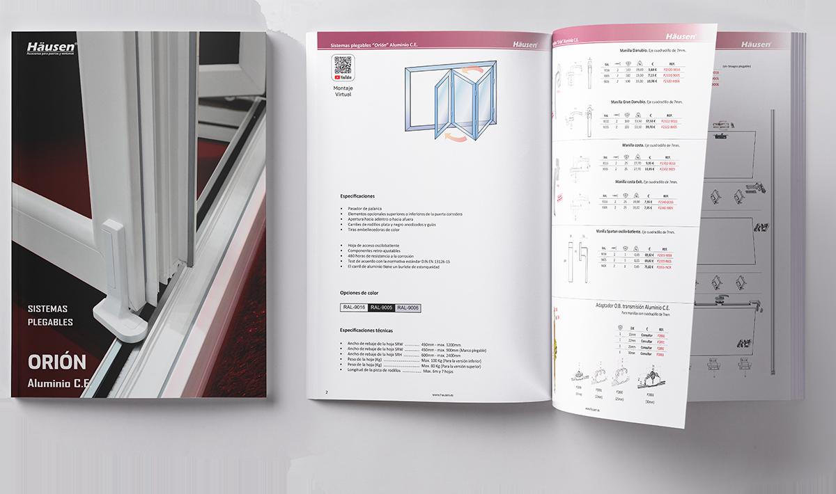 Catálogo Sistemas plegables para puertas y ventanas de Aluminio y PVC