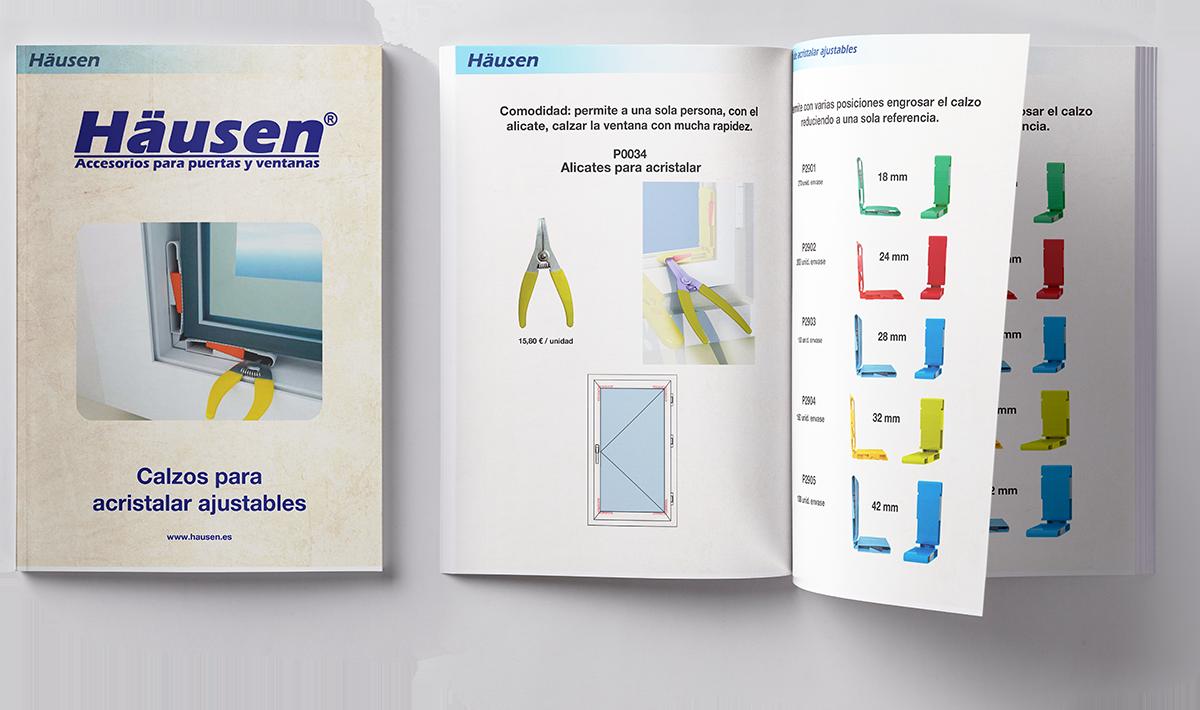 Catalogo accesorios para puertas y ventanas de Aluminio y PVC