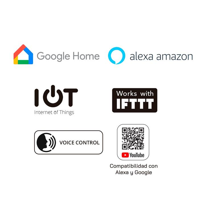 APP Interner de las cosas ALEXA Amazon y Google Home