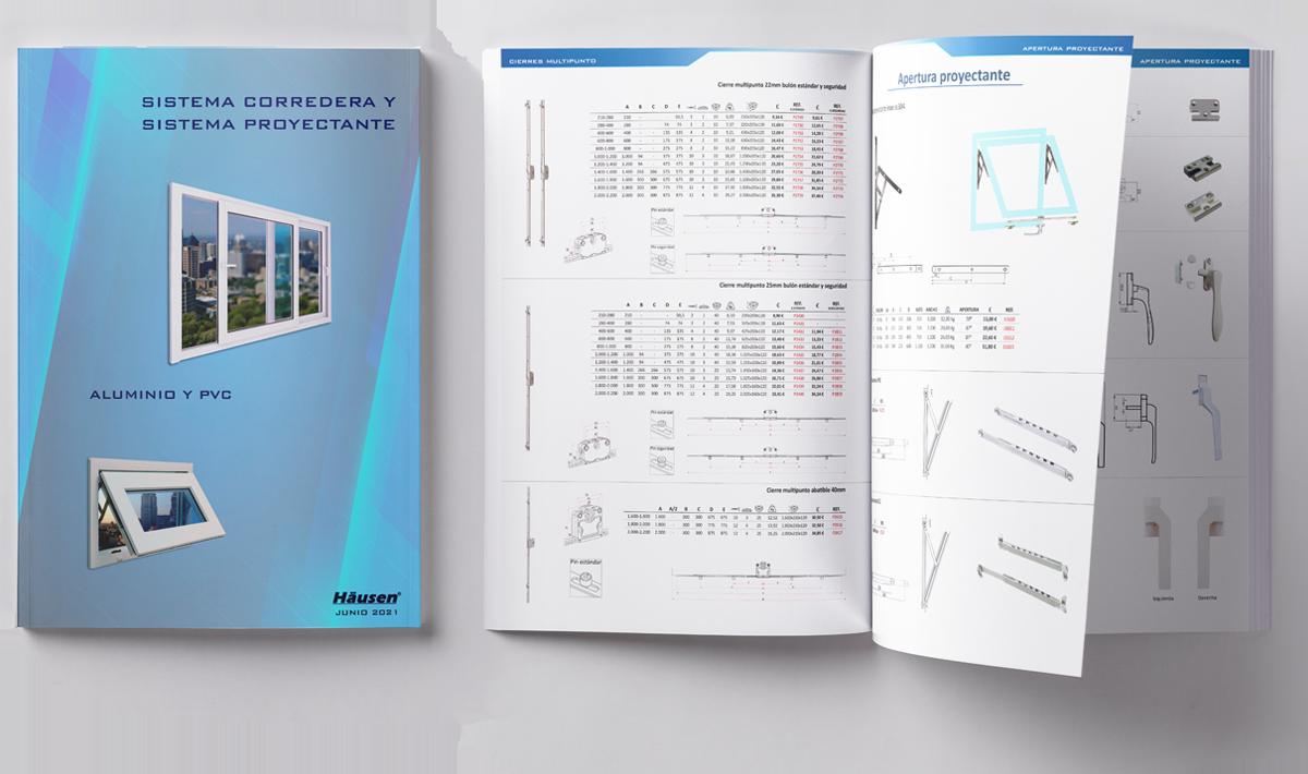 Catálogo Sistema Corredera y Proyectante