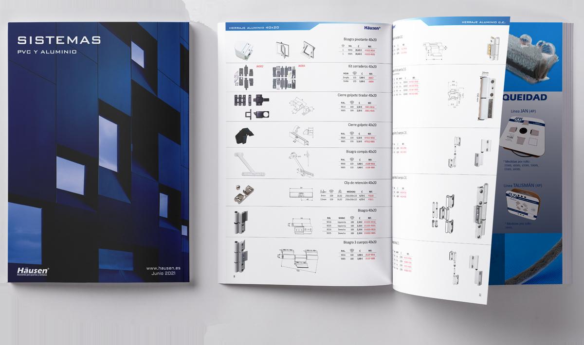 Catálogo Sitemas 2021 para PVC y aluminio