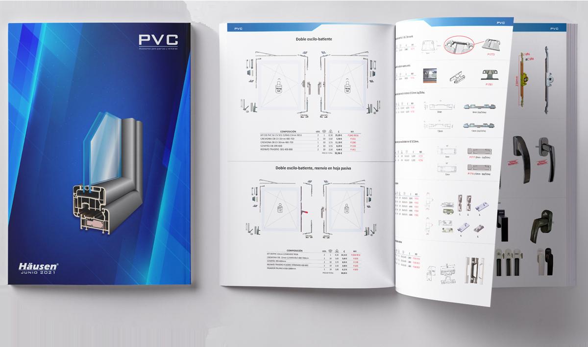 Catálogo solo PVC para puertas y ventanas